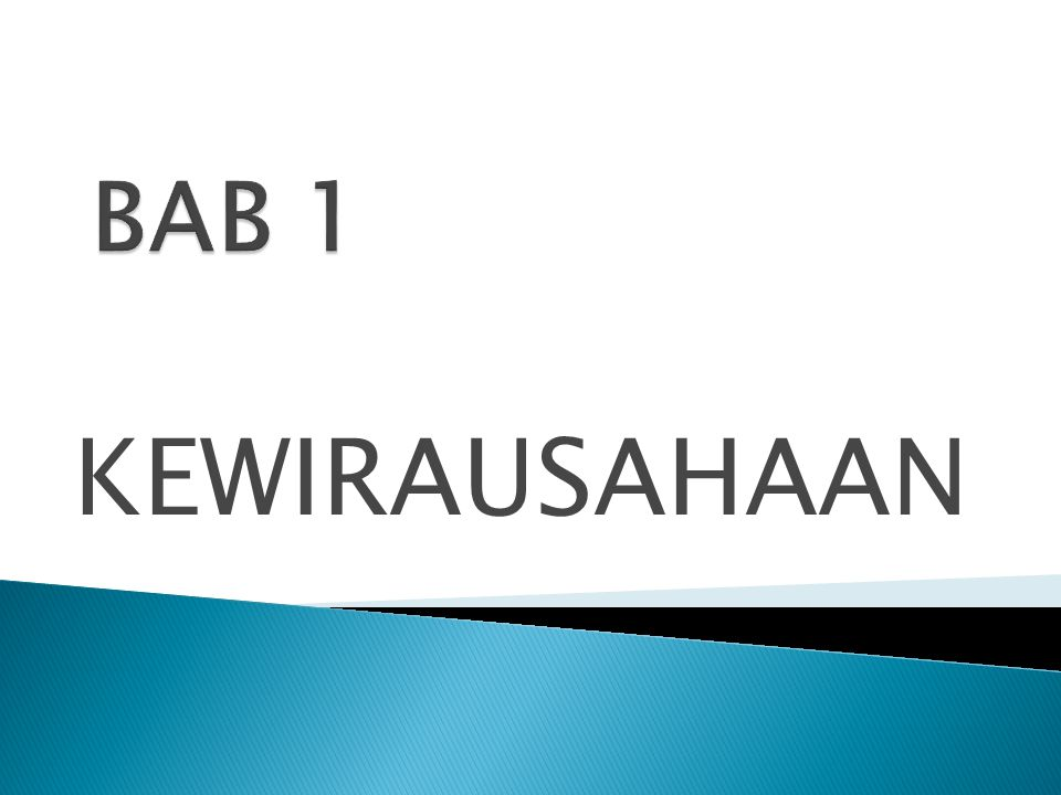 1.Kewirausahaan dijadikan sebagai pelajaran atau mata kuliah wajib 2.