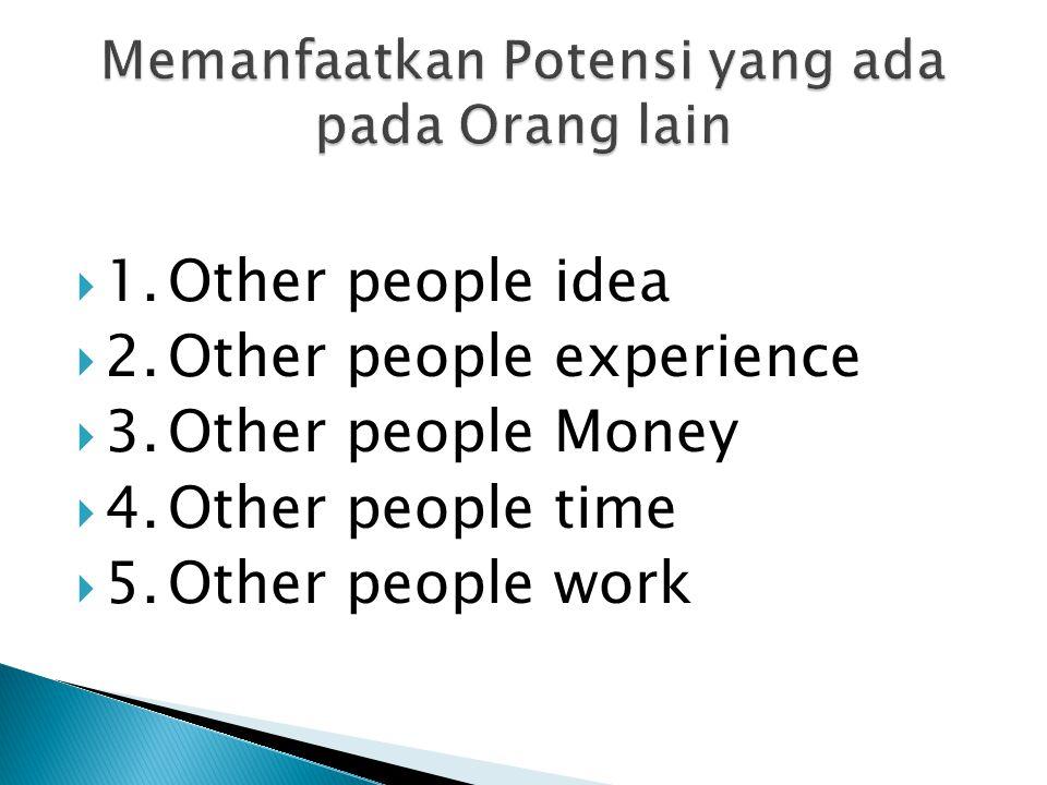 Tips !!! Jadilah Orang yang Kreatif, maka segudang peluang akan datang.