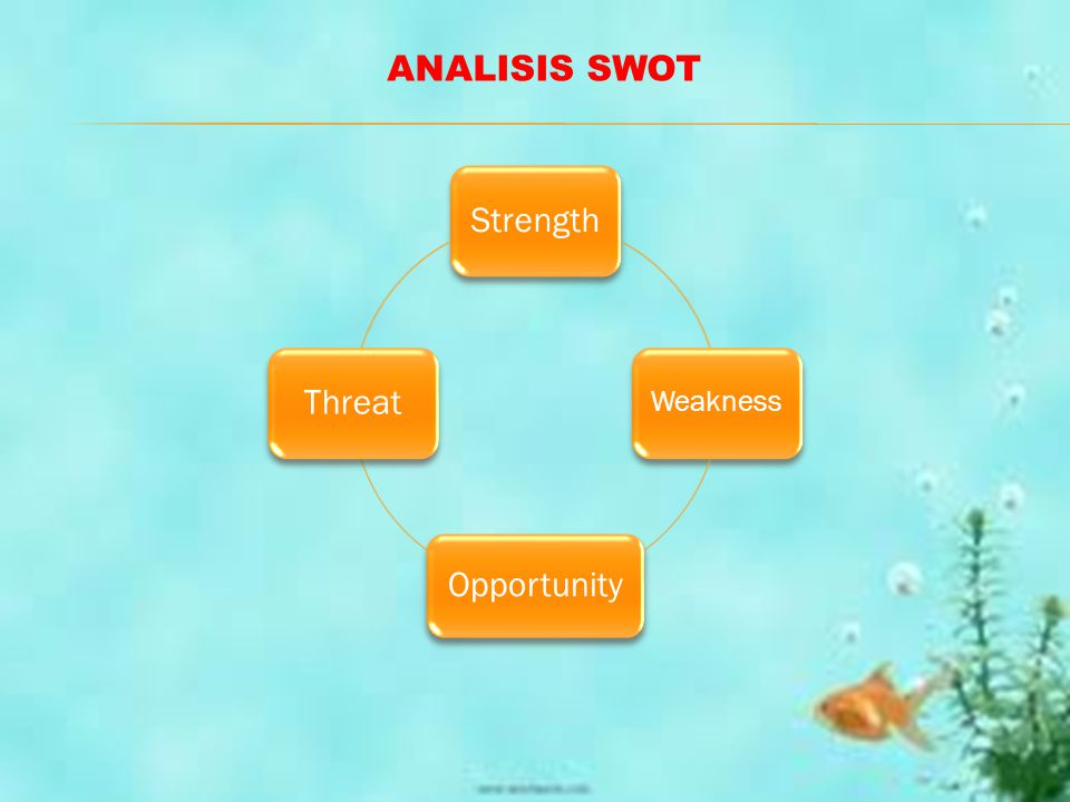 Strength Weakness Opportunity Threat ANALISIS SWOT