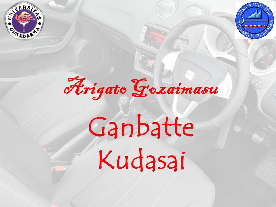 Arigato Gozaimasu Ganbatte Kudasai