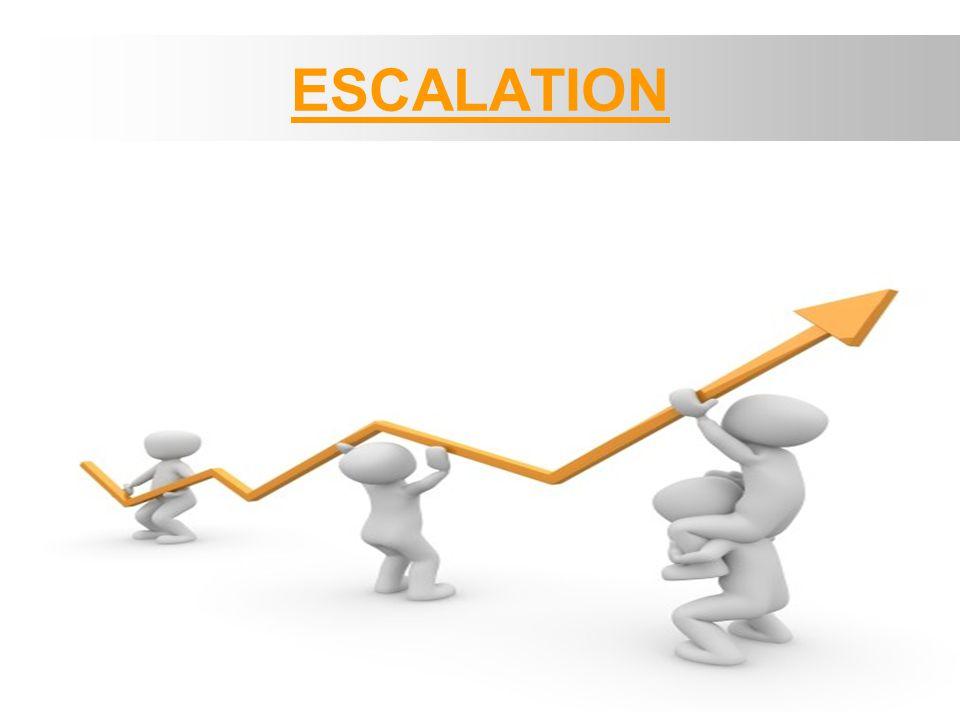Eskalasi - > dilakukan CS ketika mendapatkan komplain / request dari customer yang berkaitan dengan status pesanannya.