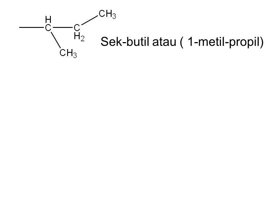 Ters-amil atau ( 1,1-dimetil-propil) neo-amil atau ( 2,2-dimetil-propil)