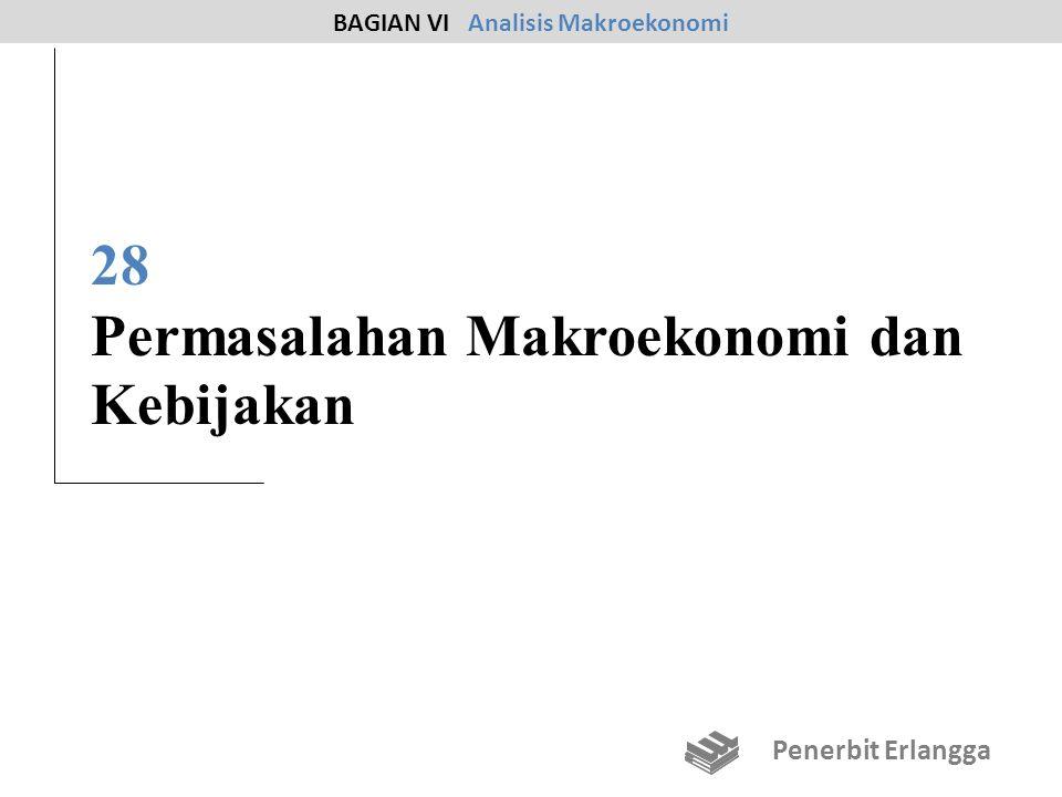 28 Permasalahan Makroekonomi dan Kebijakan BAGIAN VI Analisis Makroekonomi Penerbit Erlangga