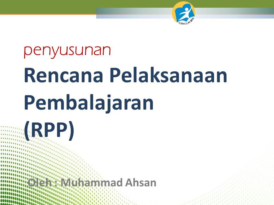 1.Memahami Rancangan Konsep RPP Kurikulum 2013; 2.Dapat menyusun Rancangan RPP dengan baik dan benar.
