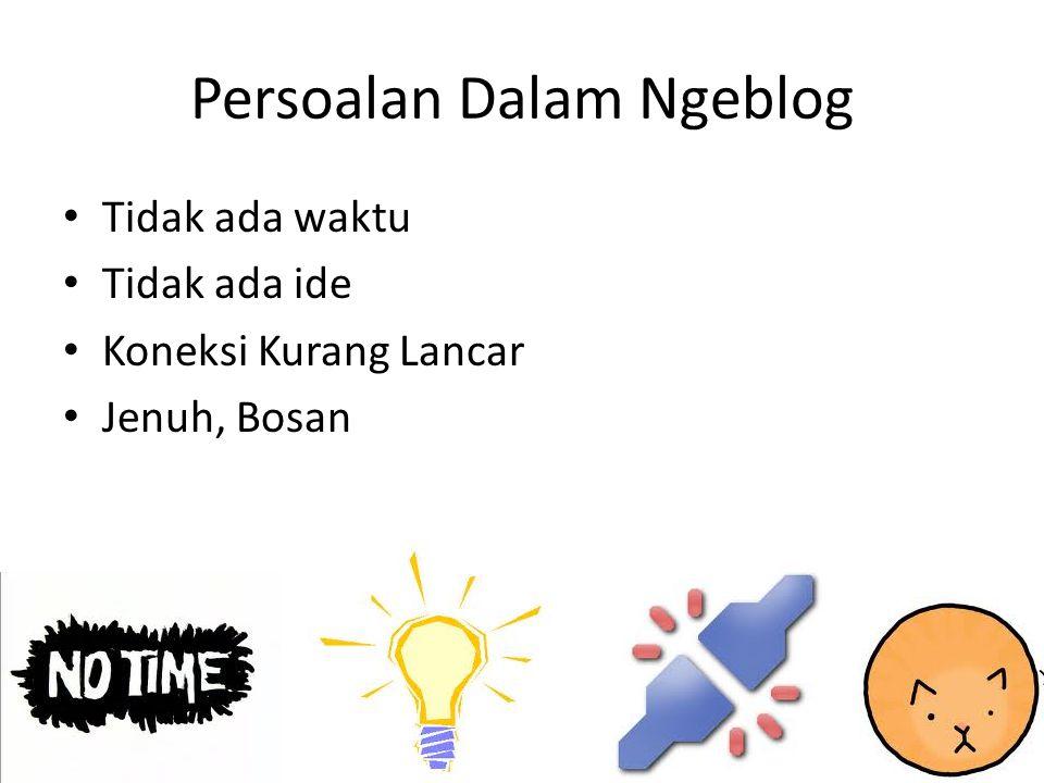Blog Guru Al Jupri, Sarjana Matematika di Kalimantan (mathematicse.wordpress.com) Hindraswari Enggar D., guru TIK SMP diJakarta (enggar.net) Urip, guru Kimia di Kalimantan (urip.wordpress.com).