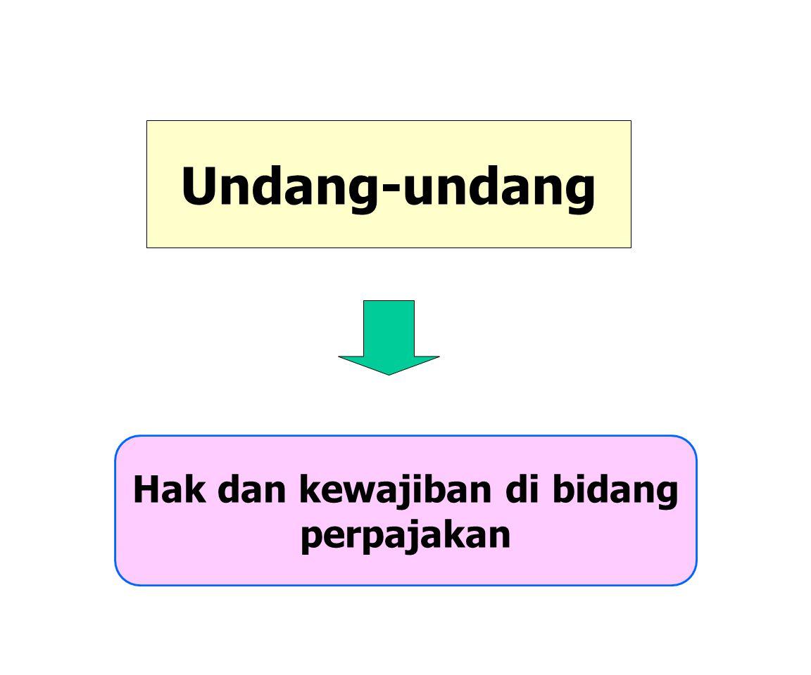 Definisi Pajak Pajak adalah kontribusi wajib kepada negara yang terutang oleh orang pribadi atau badan yang bersifat memaksa berdasarkan Undang-Undang