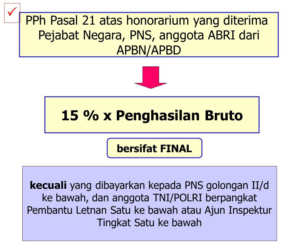 Misalkan sejak 1 Juni 2006, Sudiro pindah kerja ke swasta. Maka penghitungan PPh di Jakarta yang diisikan pada form 1721 A2 adalah sbb Pengh. bruto (J