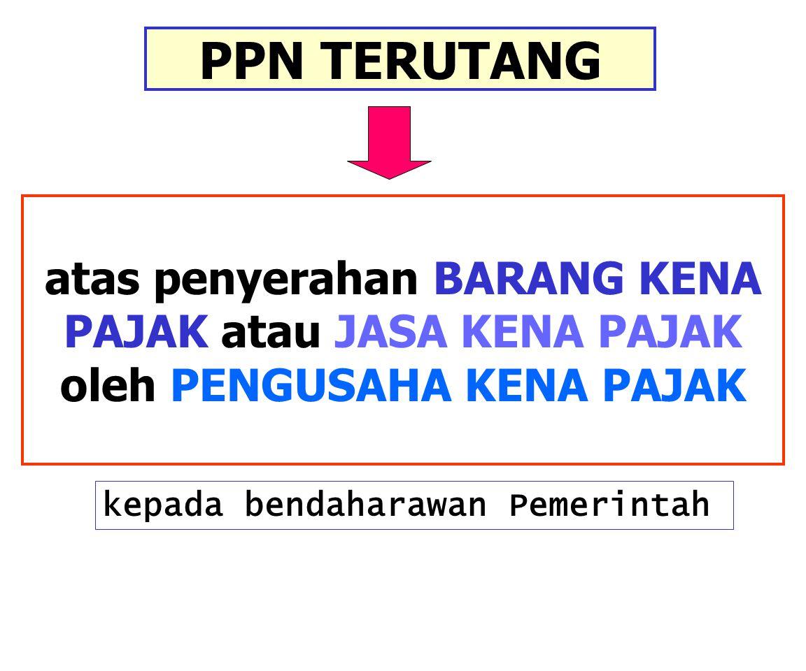 CONTOH Setelah melalui lelang, Depkeu menyetujui kontrak atas jasa konstruksi bangunan kantor senilai Rp990juta (termasuk PPN) dgn PT Perkasa Raya (PKP) sebuah perusahaan di bidang jasa konstruksi.