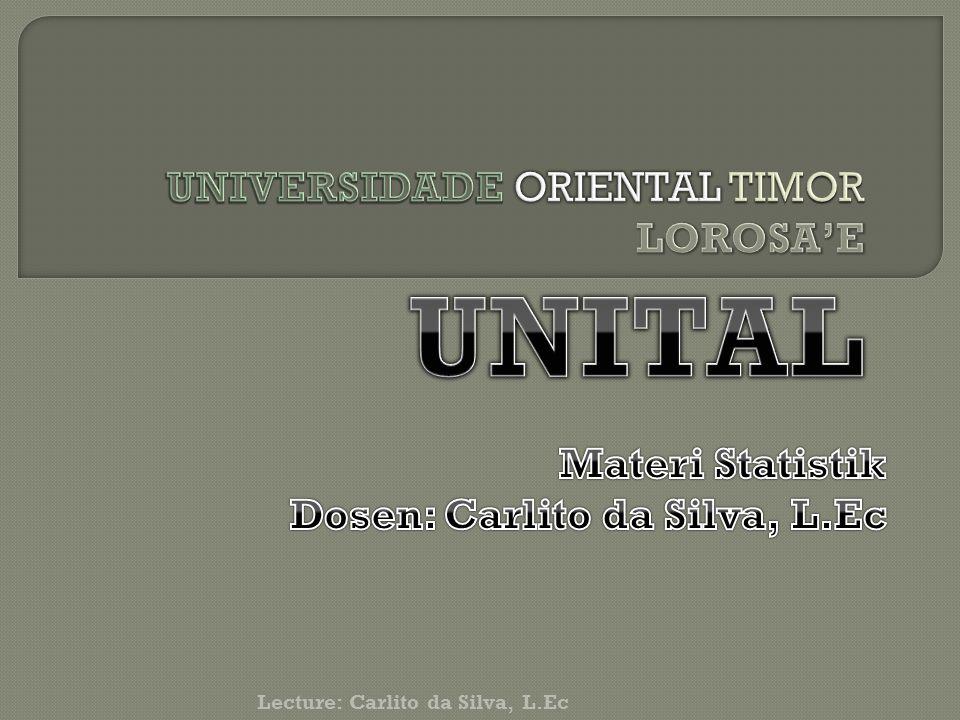 Lecture: Carlito da Silva, L.Ec
