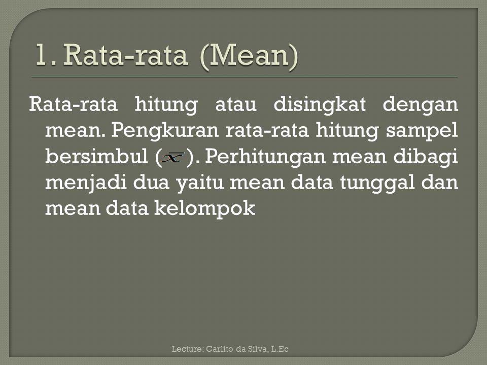 Analisis Deskriptif adalah: Analisis yang mengambarkan suatu data yang akan dibuat baik sendiri maupun secara kelompok.