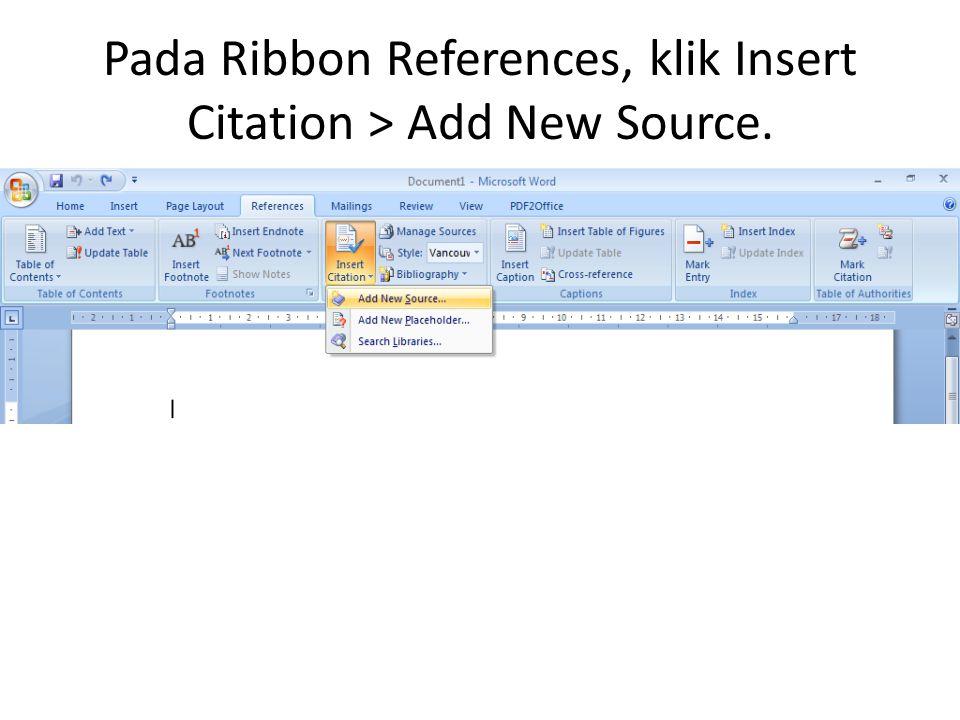Klik Edit pada Author.