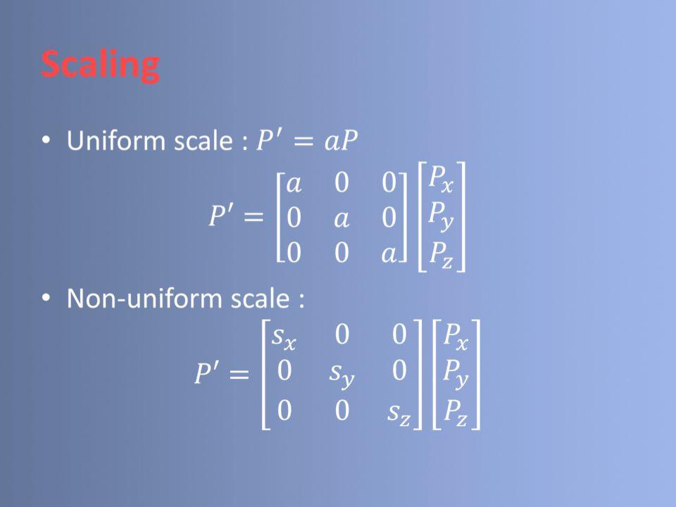 Rotation Rotasi 2D : P Q