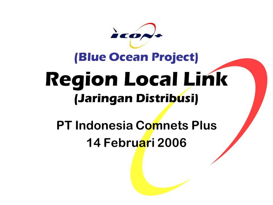 (Blue Ocean Project) Region Local Link (Jaringan Distribusi) PT Indonesia Comnets Plus 14 Februari 2006