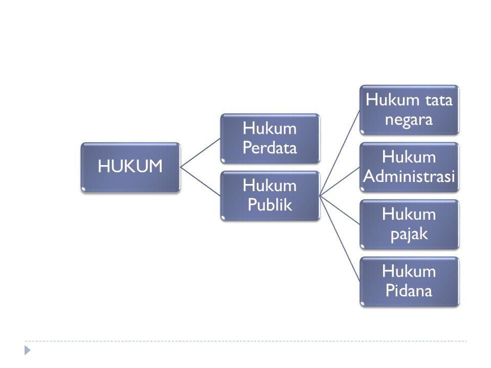 b) Hubungan Hukum Pajak dengan Hukum Pidana  Ketentuan-ketentuan pidana yang diatur dalam KUHP banyak digunakan dalam peraturan Undang-undang pajak.