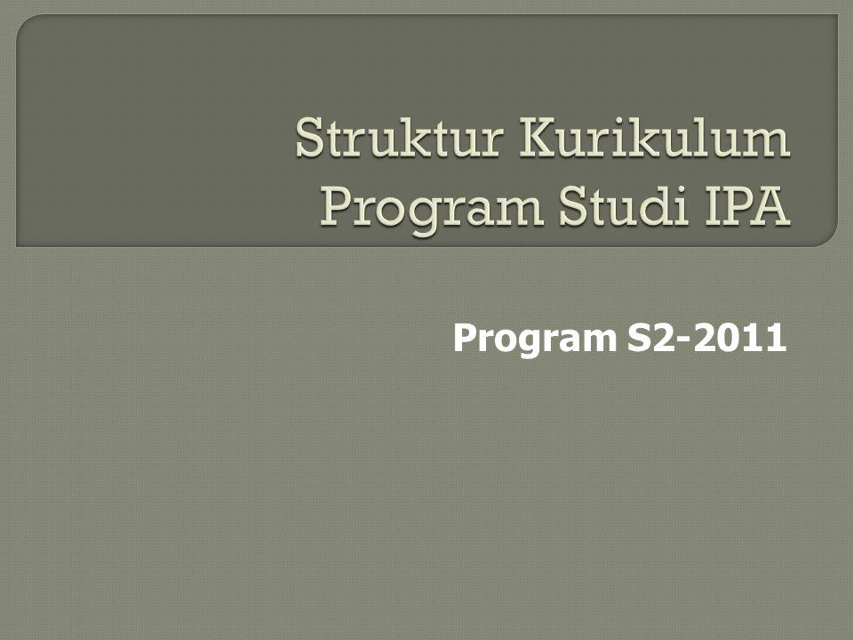 Program S2-2011