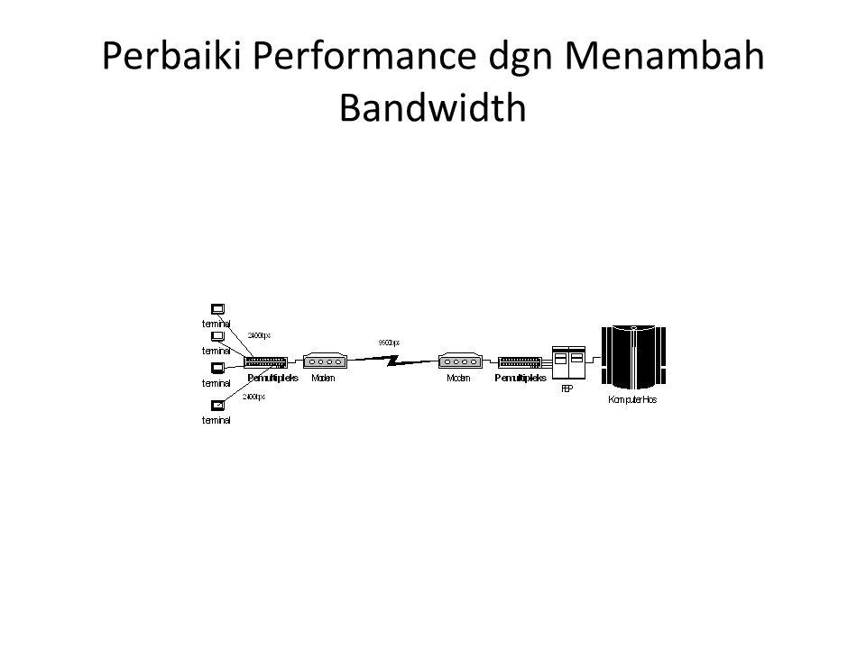Perbaiki Performance dgn Menambah Bandwidth
