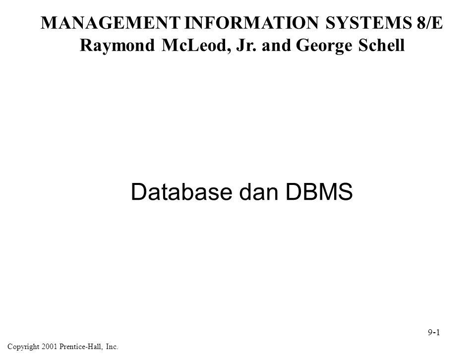Database Administrator (DBA) Tugas D B A Perancangan Database; Bekerja dengan work with users and others, define schema, etc.