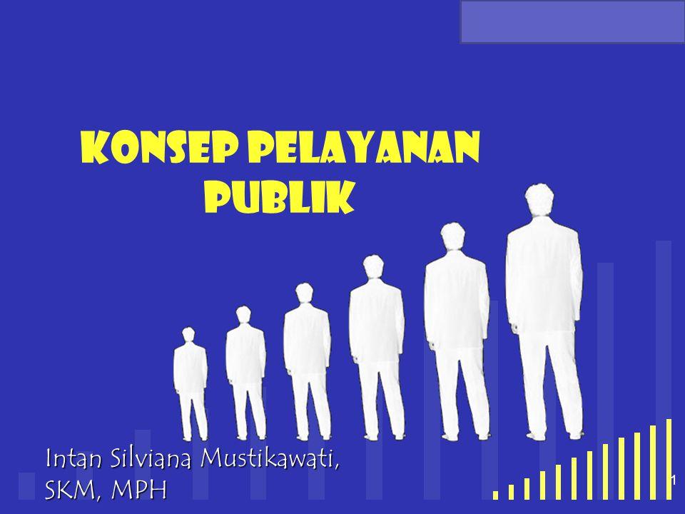 your company name 1 Konsep pelayanan publik Intan Silviana Mustikawati, SKM, MPH