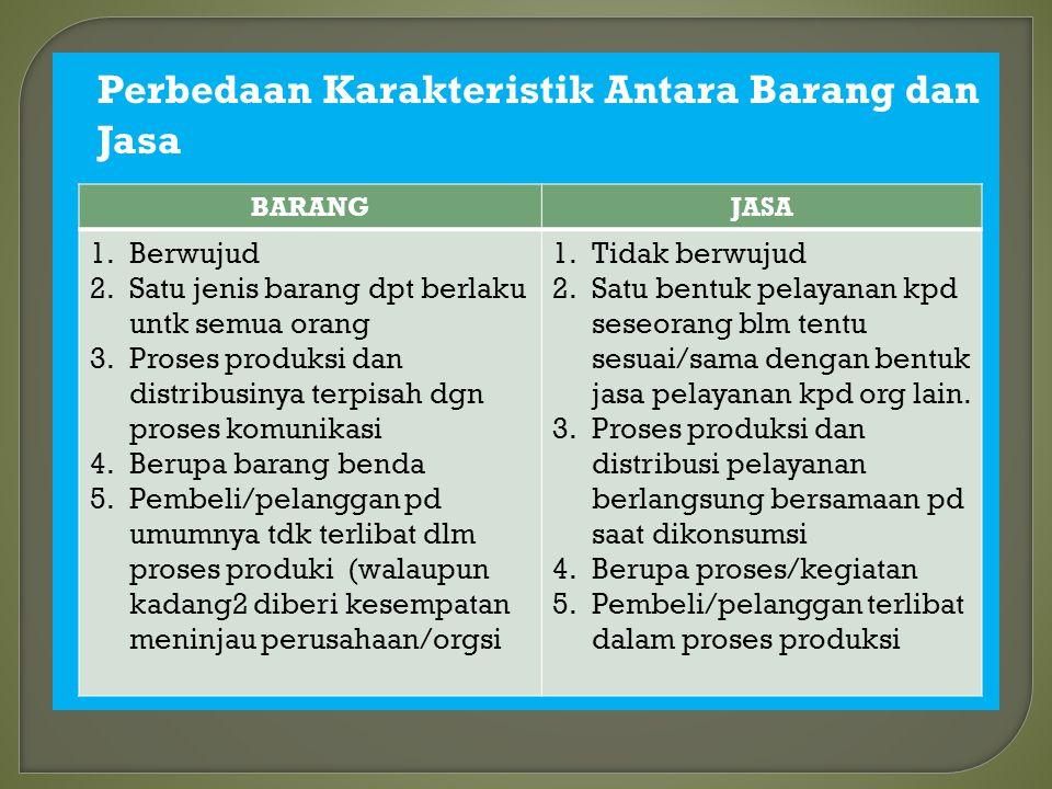 Keputusan MENPAN No. 63/2004 mengelompokkan 3 jenis pelayanan dari instansi pemerintah serta BUMN/BUMD : 1. Pelayanan administratif : pencatatan, pene