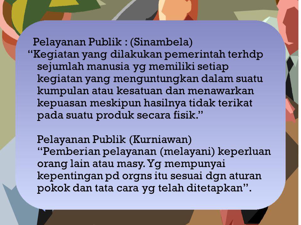 Istilah publik, yang berasal dari bahasa Inggris (public), yang memiliki variasi arti dalam bahasa Indonesia, yaitu umum, masyarakat, dan negara. Publ