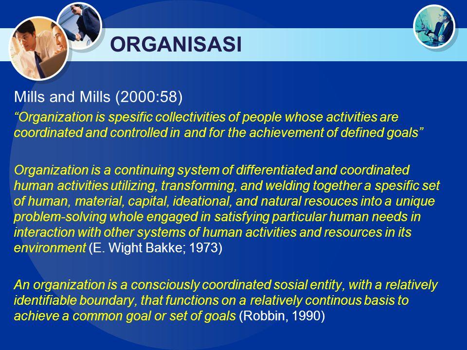 ORGANISASI  Robbins (1990: xxi) Teori organisasi merupakan sub-disiplin yang paling menarik dan paling relevan dalam kajian ilmu administrasi.