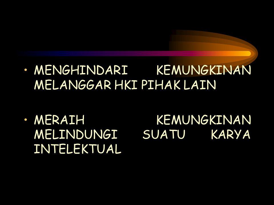 HKI DALAM HUKUM INDONESIA HAK CIPTA (UU 19/2002) PATEN (UU 14/2001) MEREK (UU 15/2001) PERLINDUNGAN VARIETAS TANAMAN (UU 29/2000) RAHASIA DAGANG (UU 30/2000) DESAIN INDUSTRI (UU 31/2000) DTLST (UU 32/2000)