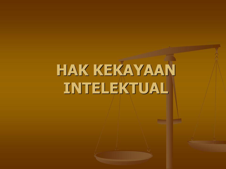 HAK CIPTA Dasar hukum: Undang-undang Nomor 19 Tahun 2002 tentang Hak Cipta Dasar hukum: Undang-undang Nomor 19 Tahun 2002 tentang Hak Cipta Hak cipta mengandung: hak moral, dan hak ekonomi Hak cipta mengandung: hak moral, dan hak ekonomi Sifat hak cipta: Sifat hak cipta: a.