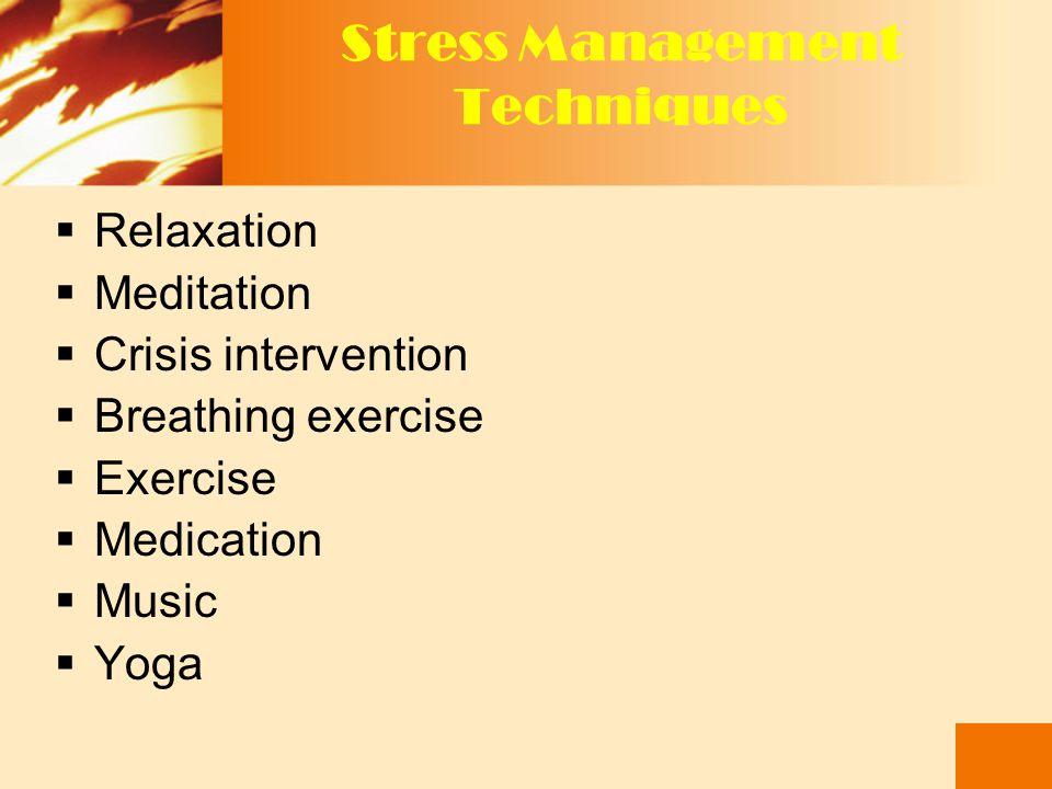 3. MENINGKATKAN RESPON PERILAKU & EMOSI TERHADAP STRESS SISTEM PENDUKUNG  Sistem pendukung : Keluarga,teman kolega, yang akan mendengar, memberi nase