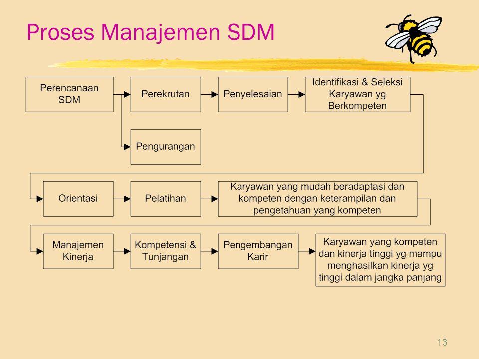 13 Proses Manajemen SDM