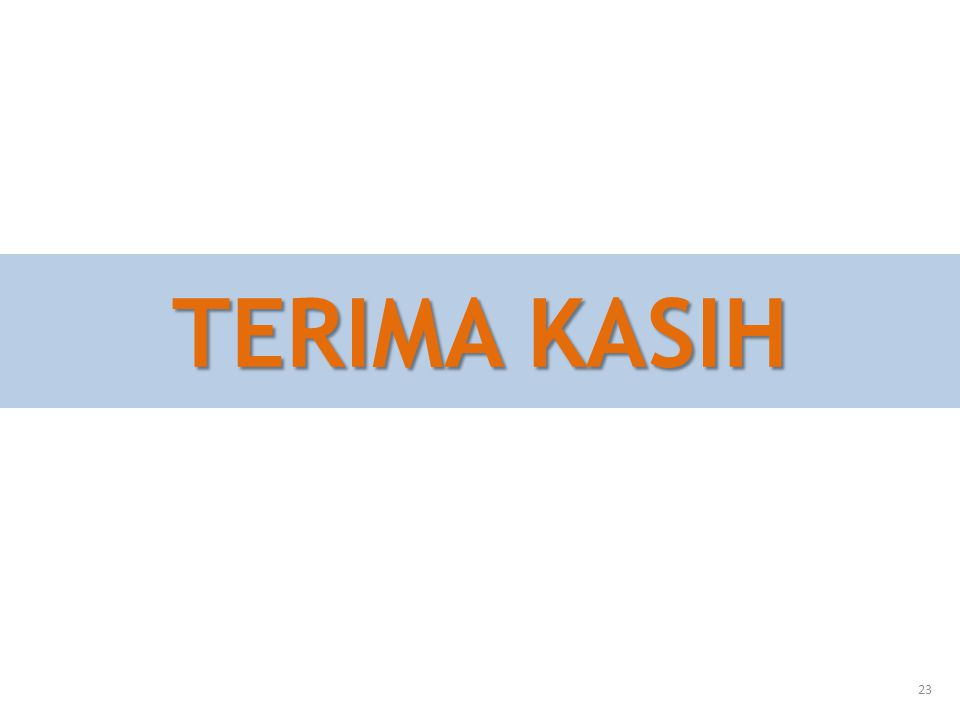 TERIMA KASIH 23