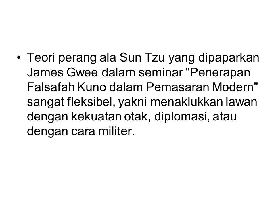 Teori perang ala Sun Tzu yang dipaparkan James Gwee dalam seminar