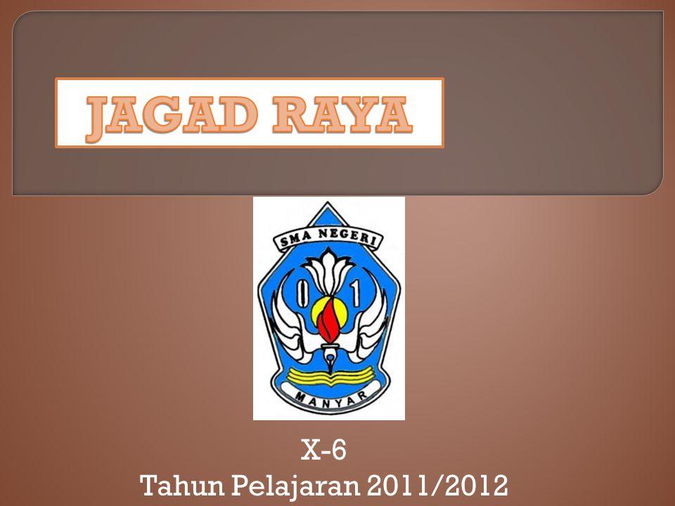 X-6 Tahun Pelajaran 2011/2012