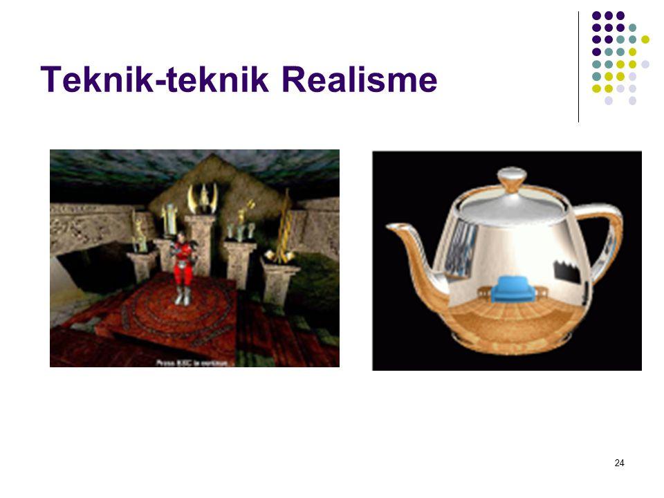 Teknik-teknik Realisme 24