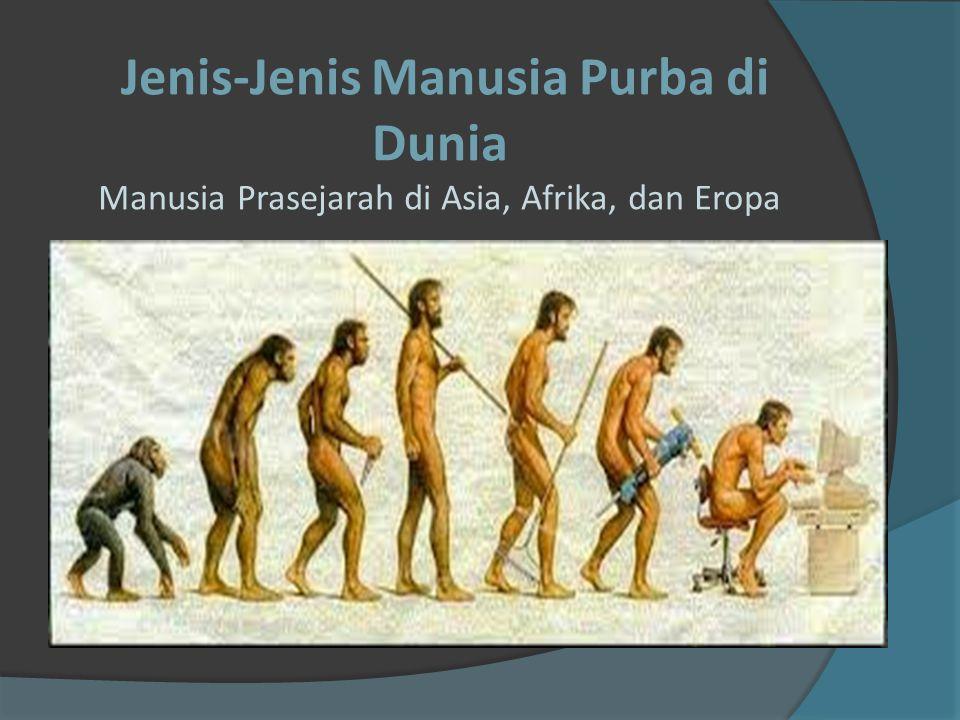 Homo Floresiensis  Manusia purba jenis Homo Florensis ditemukan saat penggalian di Liang Bua, Flores oleh tim arkeologi gabungan dari Puslitbang Arke