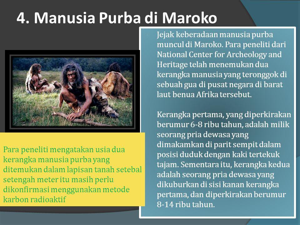 """3. Manusia purba di Afrika  Manusia purba yang ditemukan di Afrika disebut Homo Africanus yang berarti """"manusia dari Afrika"""".Fosilnya ditemukan oleh"""