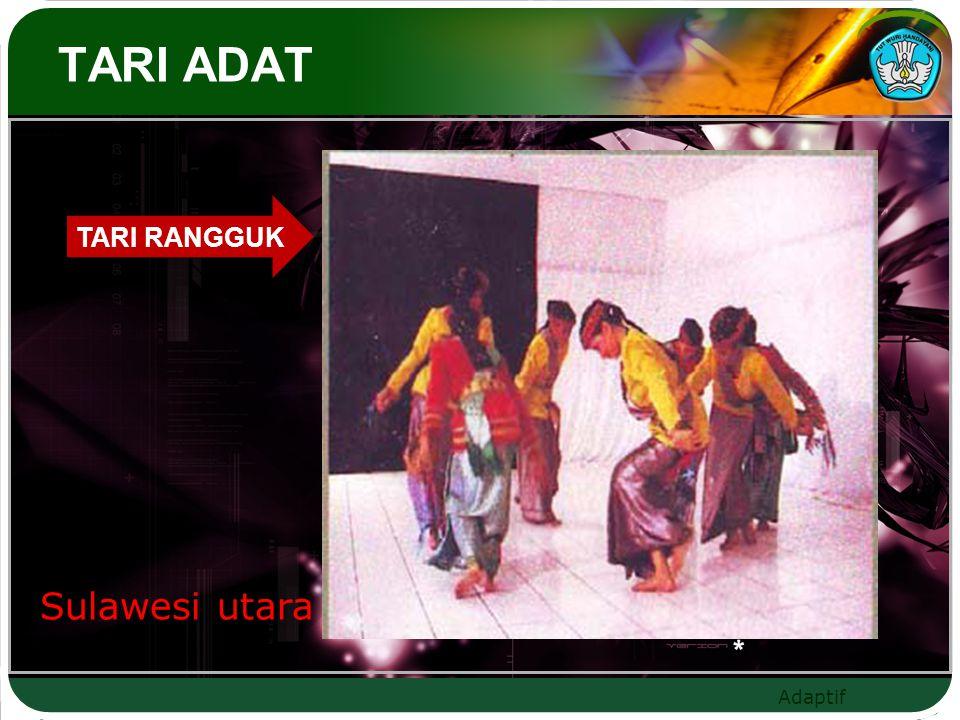Adaptif TARI ADAT TARI RANGGUK Sulawesi utara