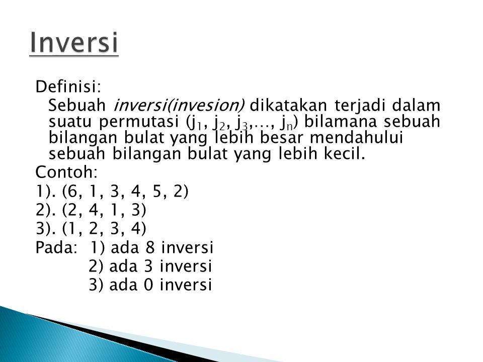 Contoh: Tentukan determinan matrik berikut dg reduksi baris. BY NURUL SAILA
