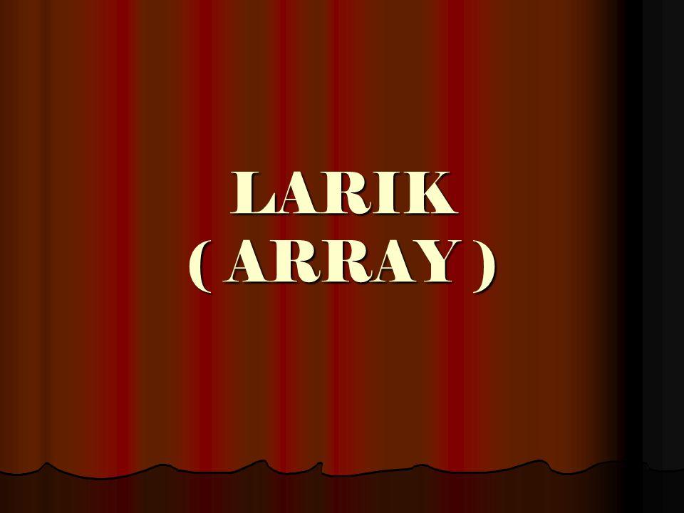 LARIK ( ARRAY )