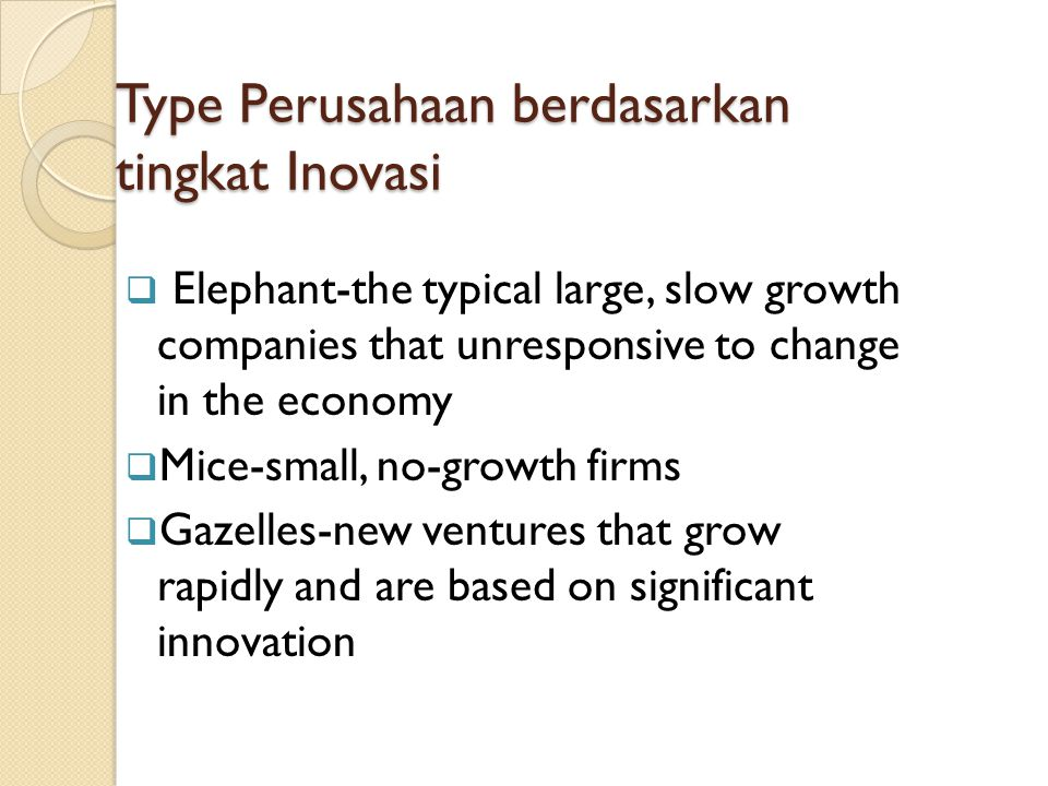 Peran Kewirausahaan dalam Ekonomi Create job Shape innovation Speed up structural change in economy Create new competition Entrepreneur as a catalyst of economy growth and national competitiveness