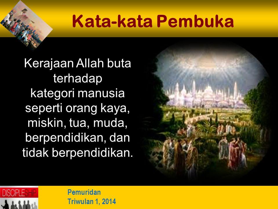 b b Understand the purposes of marriageA Memuridkan Orang Biasa 2.