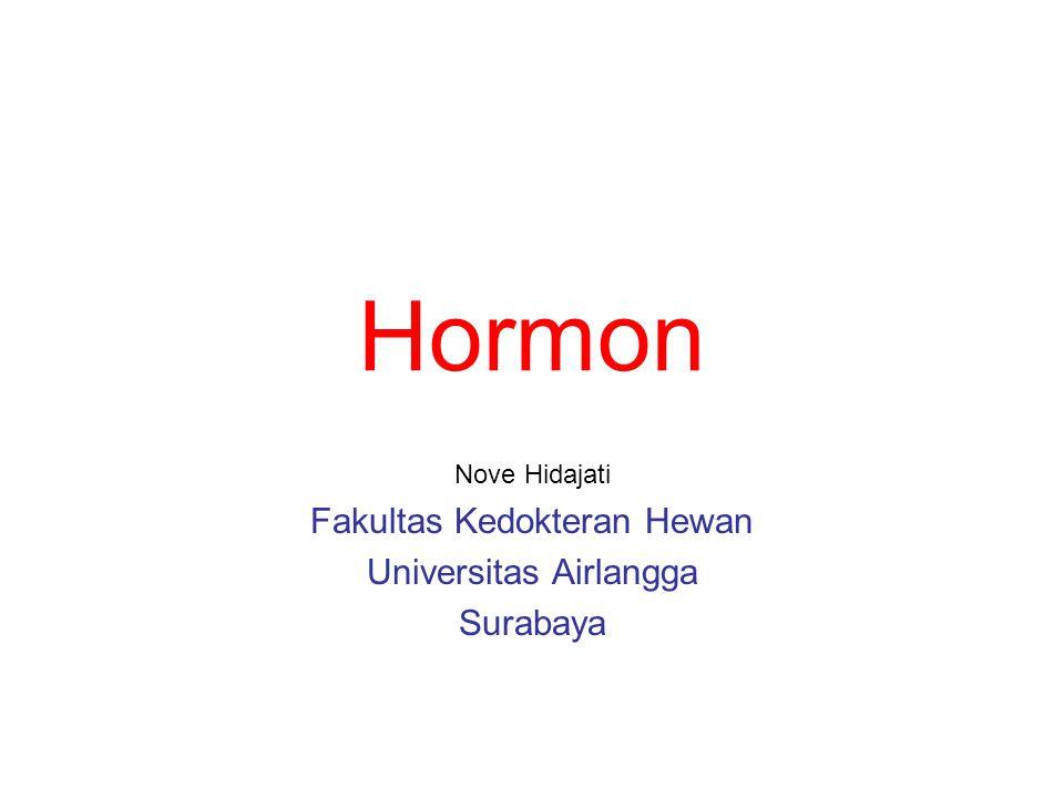 Hormon mengatur beberapa proses Pertumbuhan dan diferensiasi sel, jaringan dan organ Mengatur alur metabolisme Mengatur proses Pencernaan makanan Mengatur homeostasis antara lain dengan cara mempertahankan konsentrasi ion