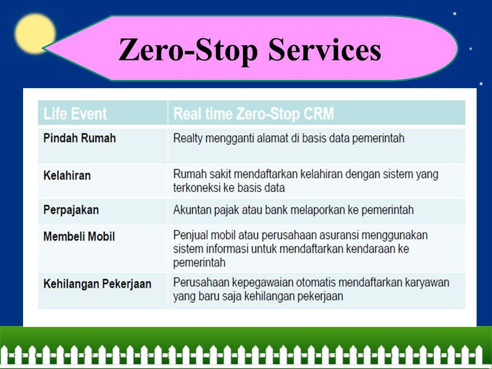 Zero-Stop Services