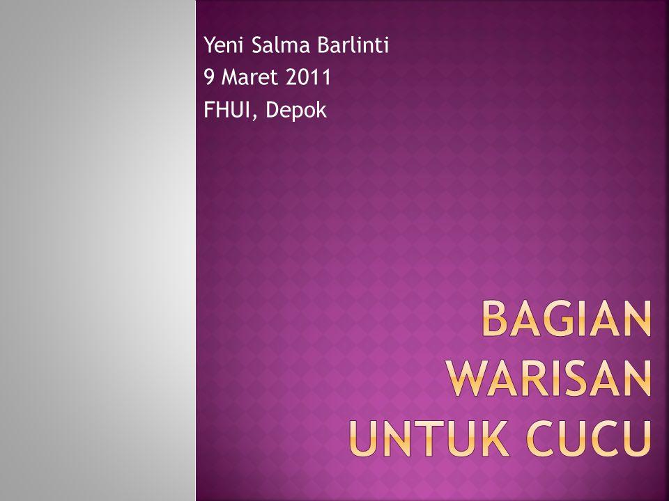 Yeni Salma Barlinti 9 Maret 2011 FHUI, Depok