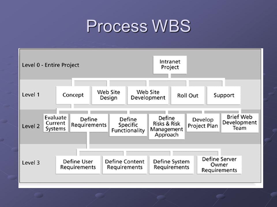 Process WBS