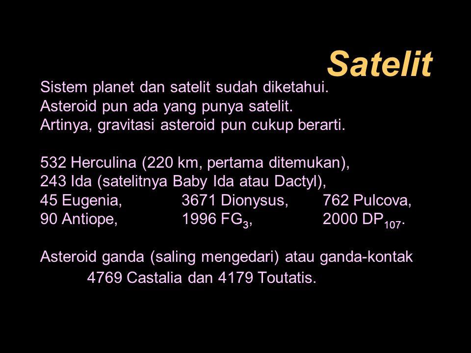 Dampak Jatuhnya Benda Langit Meteor ataupun hujan meteor salah satu bukti.
