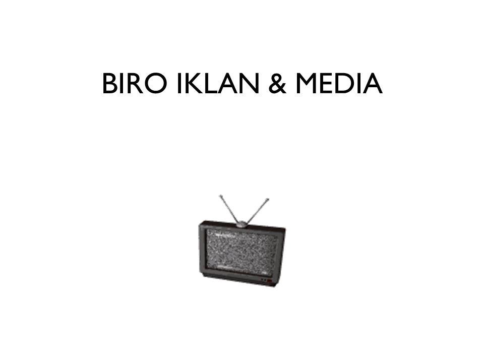PENDAHULUAN Periklanan adalah ekonomi konsumen yang penting Peran iklan di media massa Bisnis periklanan di Indonesia Biro iklan sebagai jembatan antara pengiklan dan media