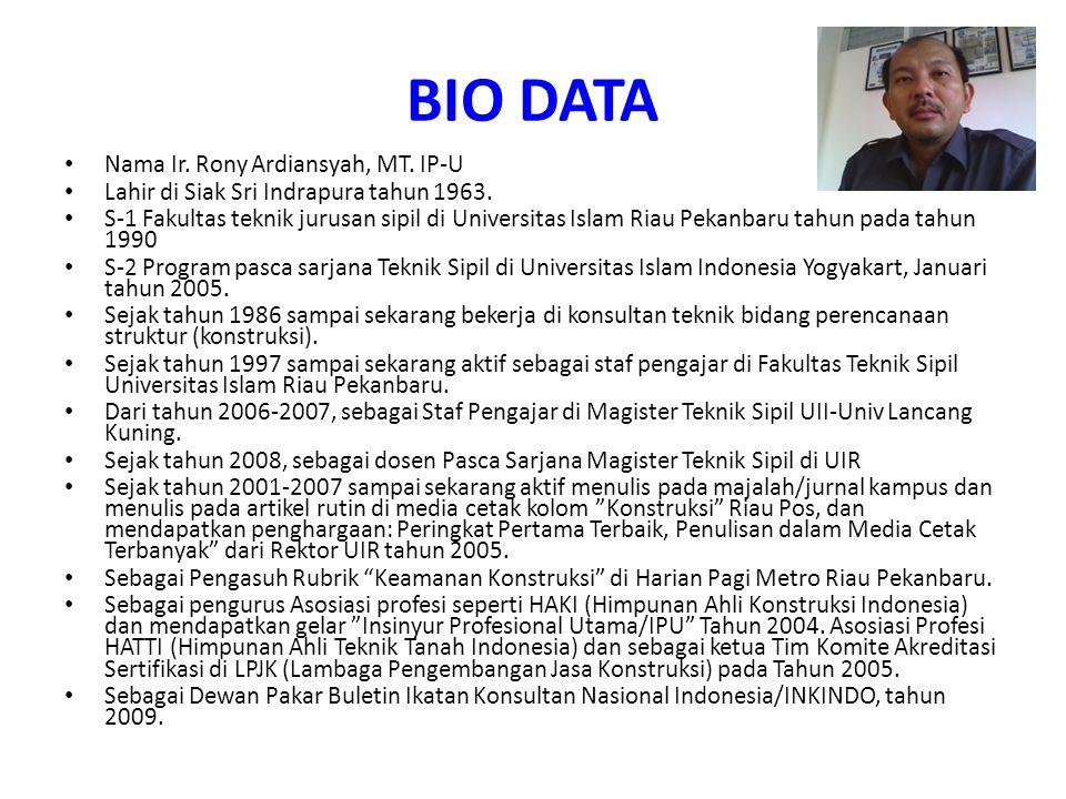 Referensi 1.Heinz Frick,2006, Ilmu dan Alat Ukur Tanah, Cetakan Keenam Kanisius, Yogyakarta.