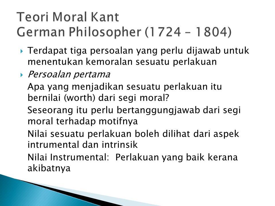  Bagaimana dengan tindakan yang sememangnya salah dari segi moral, tetapi dapat membawa kegembiraan/keseronokan yang tinggi?  Adakah fahaman utilita