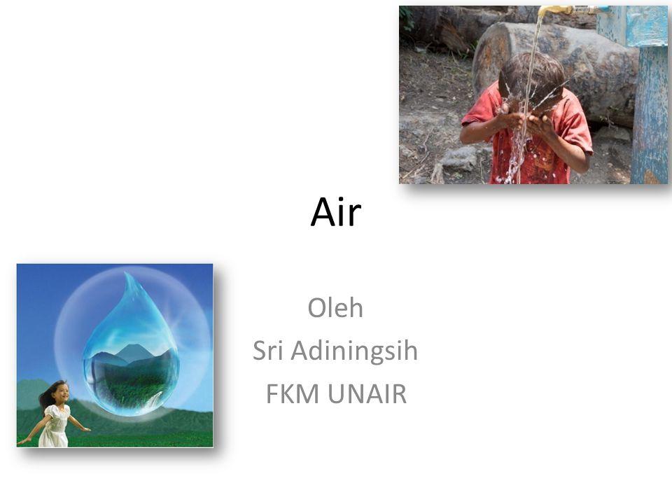 Air Oleh Sri Adiningsih FKM UNAIR