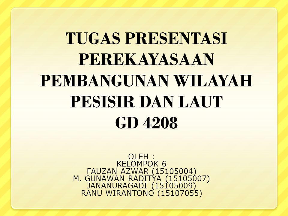OLEH : KELOMPOK 6 FAUZAN AZWAR (15105004) M.